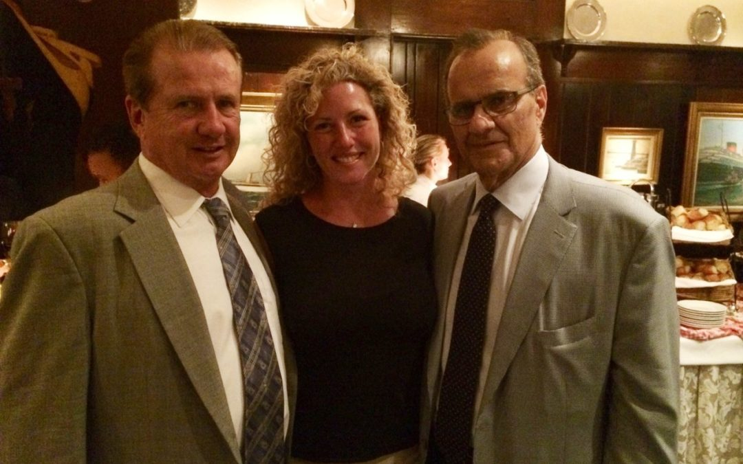 Tom and Erin True Support Joe Torre
